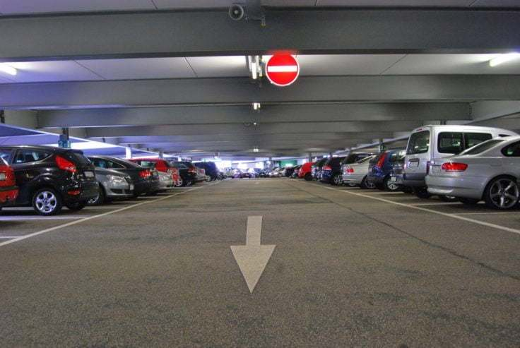 Szkoda parkingowa